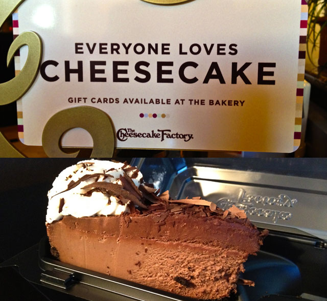 Visit To AmericaThe Cheesecake Factory