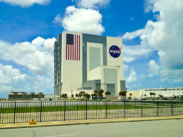 Visit To America VAB Vehicle Assembly Building