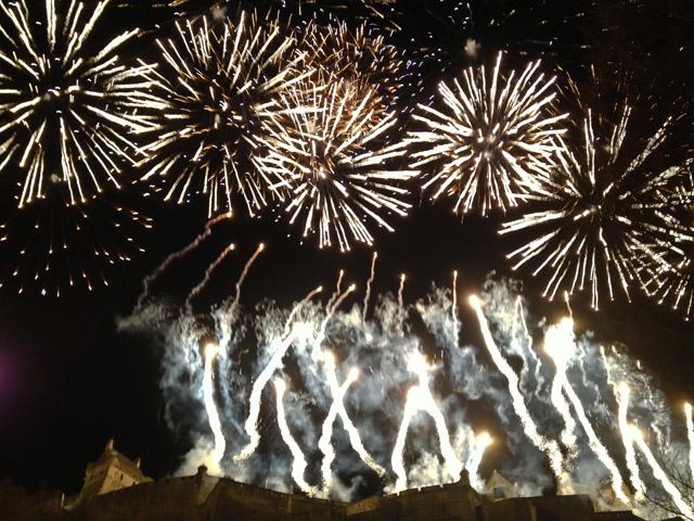 Hogmanay in Edinburgh Fireworks