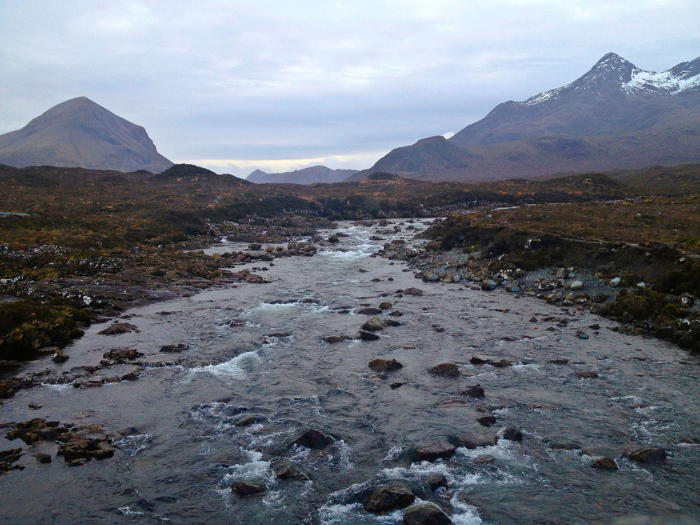Sligachan River Isle of Skye Scotland