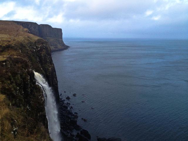 Travel Scotland Kilt Rock Mealt Waterfall