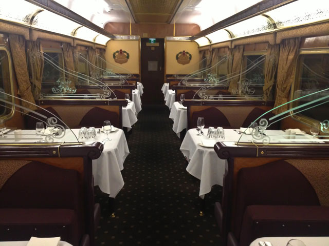 The Indian Pacific Dining