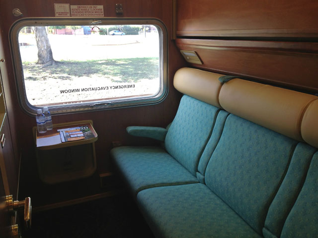 The Indian Pacific Gold Service Twin Room