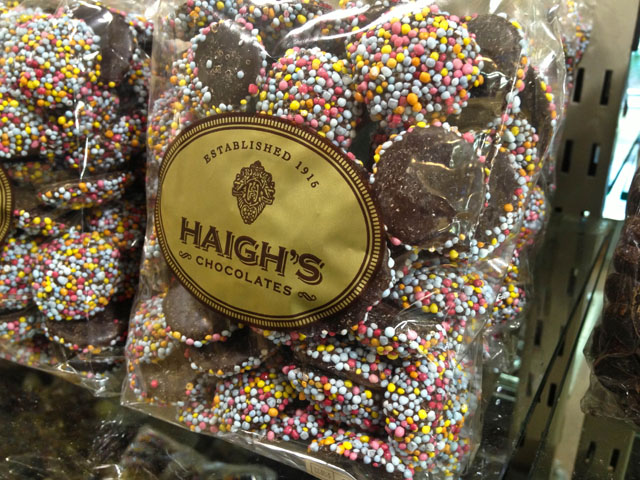 The Indian Pacific Haighs Chocolates