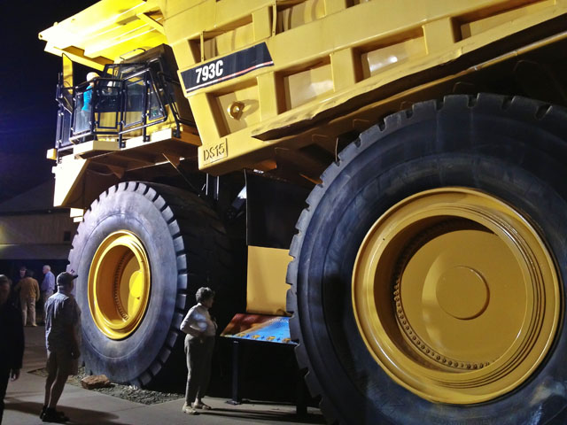 The Indian Pacific Kalgoorlie Mine Truck