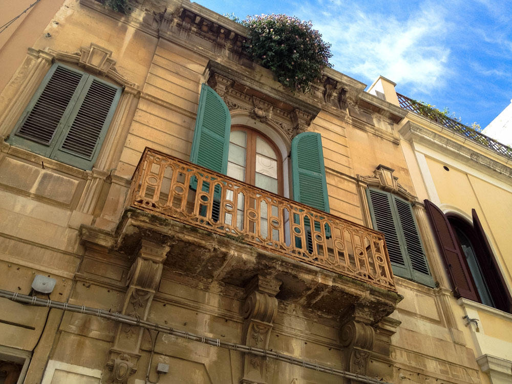 A Street In Brindisi Italy