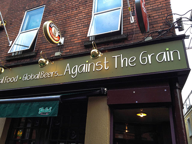Dublin Pubs Against The Grain