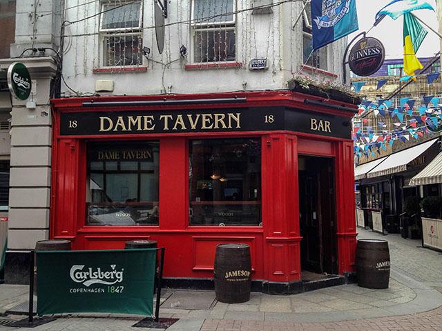 Dublin Pubs Dame Tavern