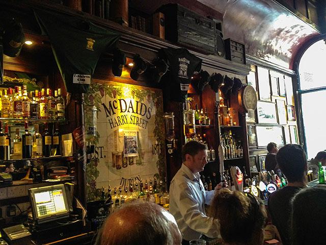 Dublin Pubs McDaids
