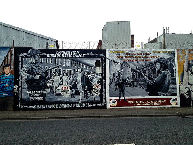 Day Trip To Northern Ireland Falls Rd Murals