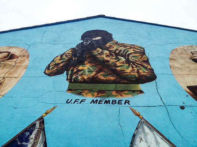 Day Trip To Northern Ireland Gunman Below