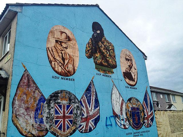 Day Trip To Northern Ireland Gunman Left
