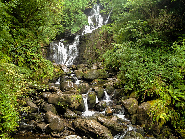 Things To Do In Kerry - Torc Waterfall